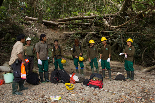 Monitoring Team Members in Camp Monu